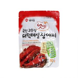 종가집 옛맛 더덕매실장아찌(150g)
