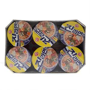 오뚜기 진라면컵 순한맛(65g*6입)