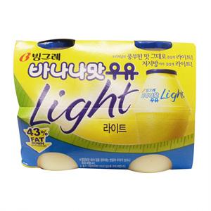 빙그레 바나나맛우유 라이트 멀티(240ml*4입)