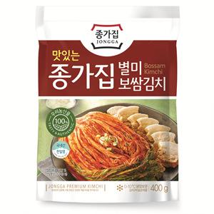 대상종가집 배추보쌈 김치(400g)