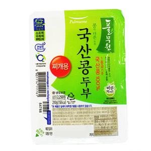 풀무원 국산콩 찌개두부(210g)