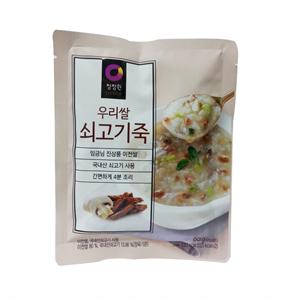 대상 청정원 쇠고기죽(60g)
