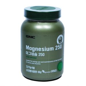 GNC 마그네슘 250 (120캡슐)