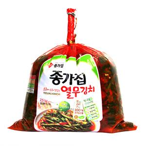 종가집 투명열무김치(2.5kg)