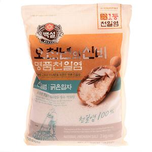 CJ 천일염 오천년의신비_굵은입자(3kg)