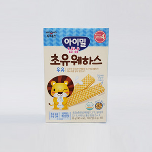 일동후디스 아기밀 냠냠 웨하스(36g)
