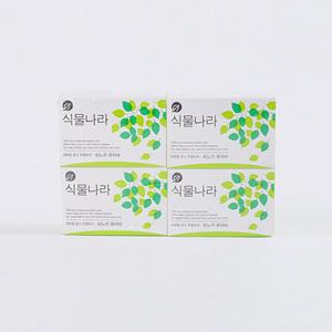 식물나라비누 히노끼 퓨어바(100g*4입)
