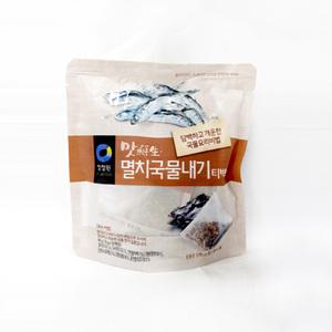 대상 청정원 맛선생 멸치국물내기 티백(80g)