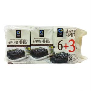 대상 청정원 올리브유 재래김(5g*9봉)