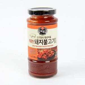 CJ 백설 매콤한 돼지불고기양념(290g)