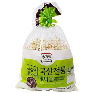 종가집 국산 무농약 콩나물(340g)