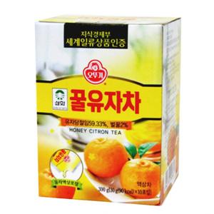오뚜기 삼화 꿀유자차(30g*10입)