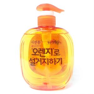LG자연퐁 오렌지로 설거지하기(500g)