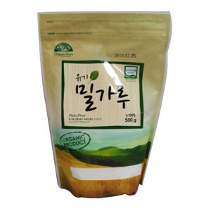 오가닉스토리 유기농 밀가루(500g)