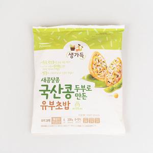 풀무원 국산콩두부로 만든 새콤달콤 유부초밥(165g*2)