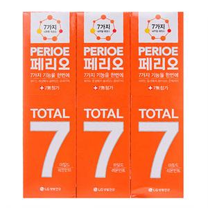페리오 토탈7 센서티브(120g*3)