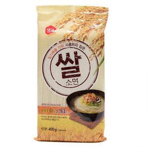 샘표 밀가루를전혀사용하지않은쌀소면(400g)