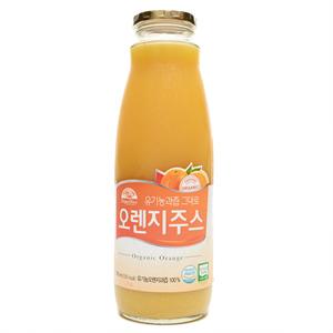 오가닉스토리 유기농과즙그대로 오렌지주스(1L)