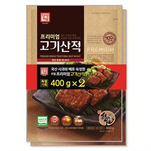 한성기업 프리미엄 고기산적(400g*2)