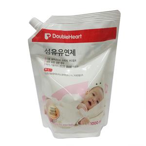 더블하트 아기전용 섬유유연제 리필 (1000ml)