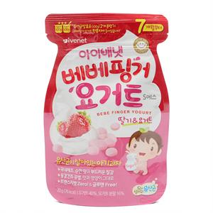 아이배냇 베베핑거 요거트 딸기(20g)