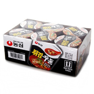 농심 튀김우동컵 (6입)