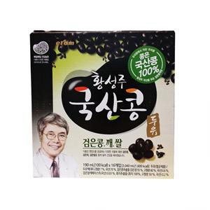 황성주 검은콩,깨,쌀 두유(190ml*16)