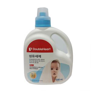 더블하트 아기전용 섬유세제 (1200ml)