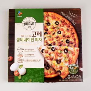 CJ 고메 콤비네이션 피자(415g/2~3인분)