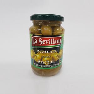 라세빌라나 엔쵸비 그린올리브(370ml)