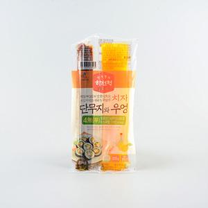 (DM) CJ 하선정 치자 단무지와 우엉(220g)