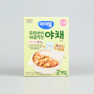 아기밀 우리아이 바로먹는 야채소스(160g)