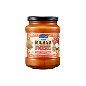 폰타나 밀라노 크림치즈 로제 파스타소스 (450g)