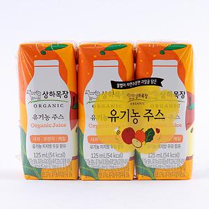 매일 맘마밀 요미요미 유기농주스 종합과일(125ml*3입)