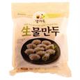 풀무원 생고기와 생야채로 속을 꽉채운 생물만두(700g)