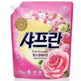 LG생활건강 샤프란 섬유유연제 핑크 센세이션 리필(2.1L)