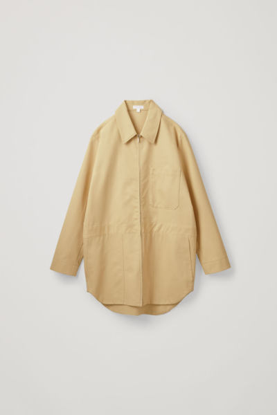 COS default image 7 of 옐로우 in 코튼 보일러 수트 재킷