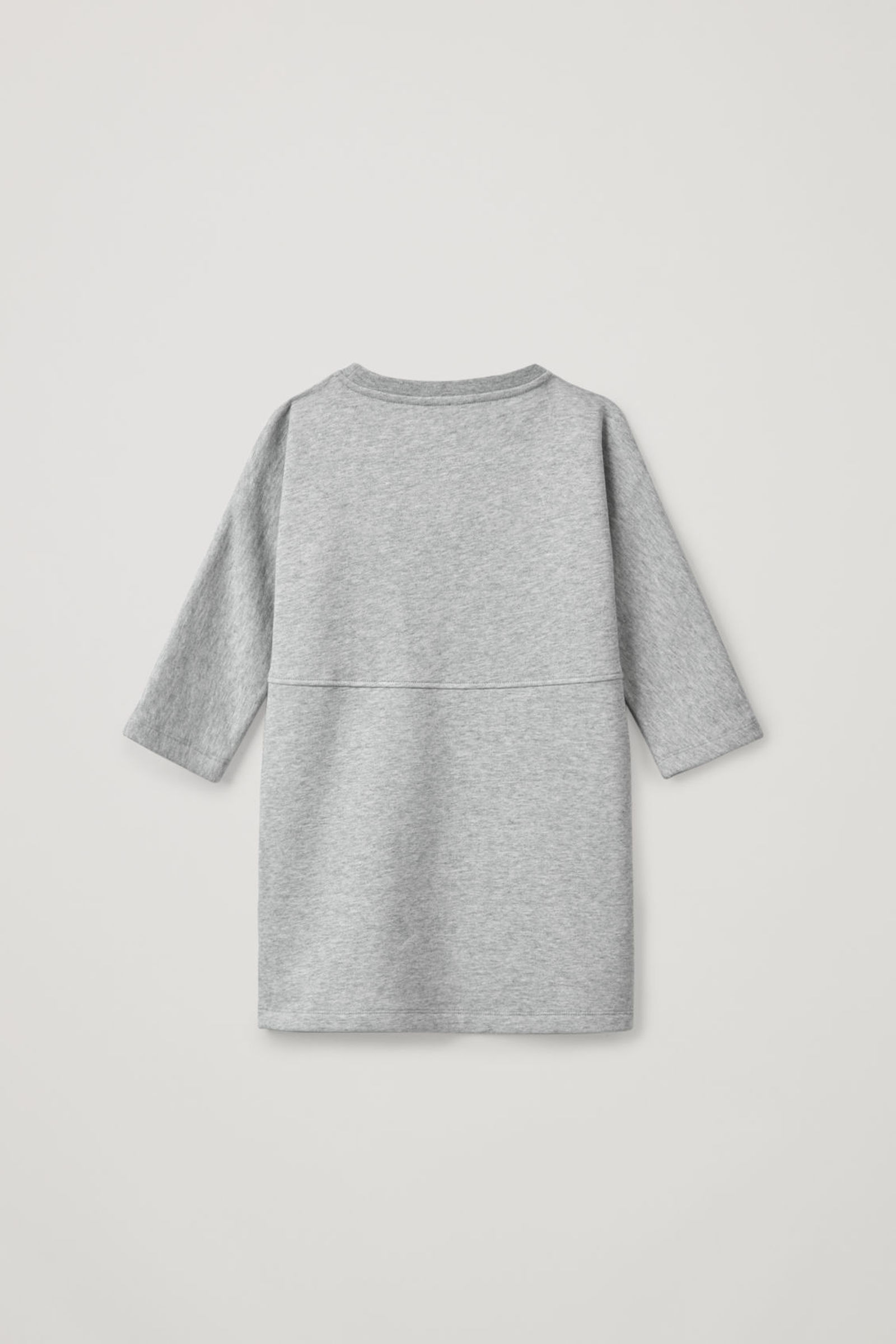 COS 서클 프린트 드레스의 골드 / 라이트 그레이컬러 상품컷입니다.