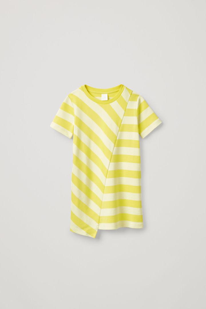 COS default image 4 of 옐로우 in 얼터네이팅 스트라이프 드레스