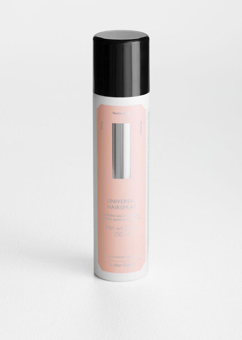 앤아더스토리즈 유니버셜 헤어스프레이의 핑크컬러 Product입니다.