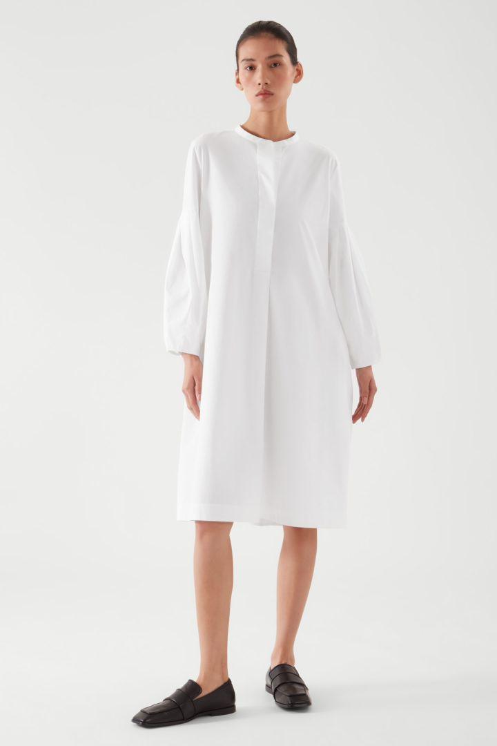 COS default image 4 of  in 플리티드 셔츠 드레스