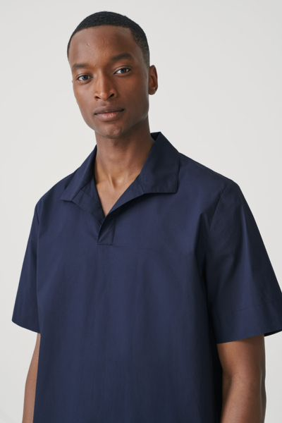 COS default image 1 of  in 오픈 칼라 코튼 셔츠