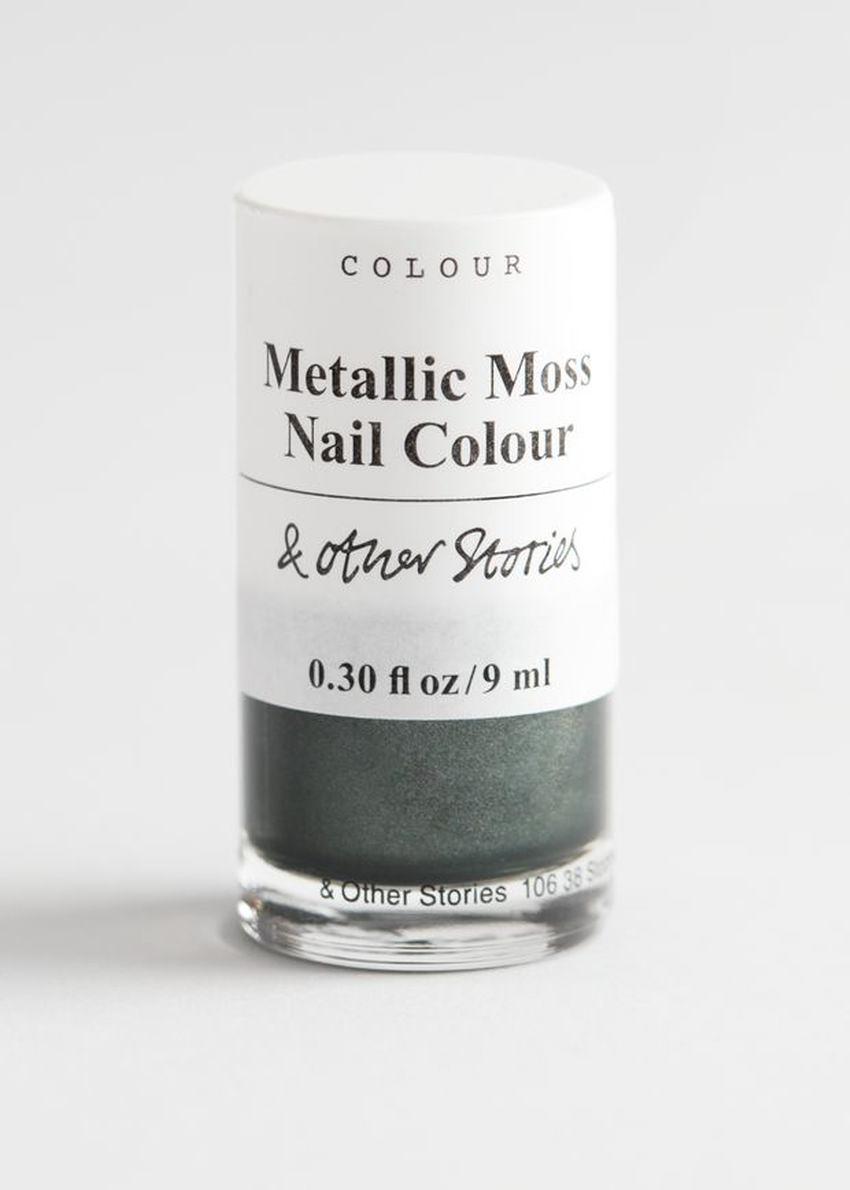 앤아더스토리즈 가이아 글림 네일 컬러의 메탈릭 모스컬러 Product입니다.