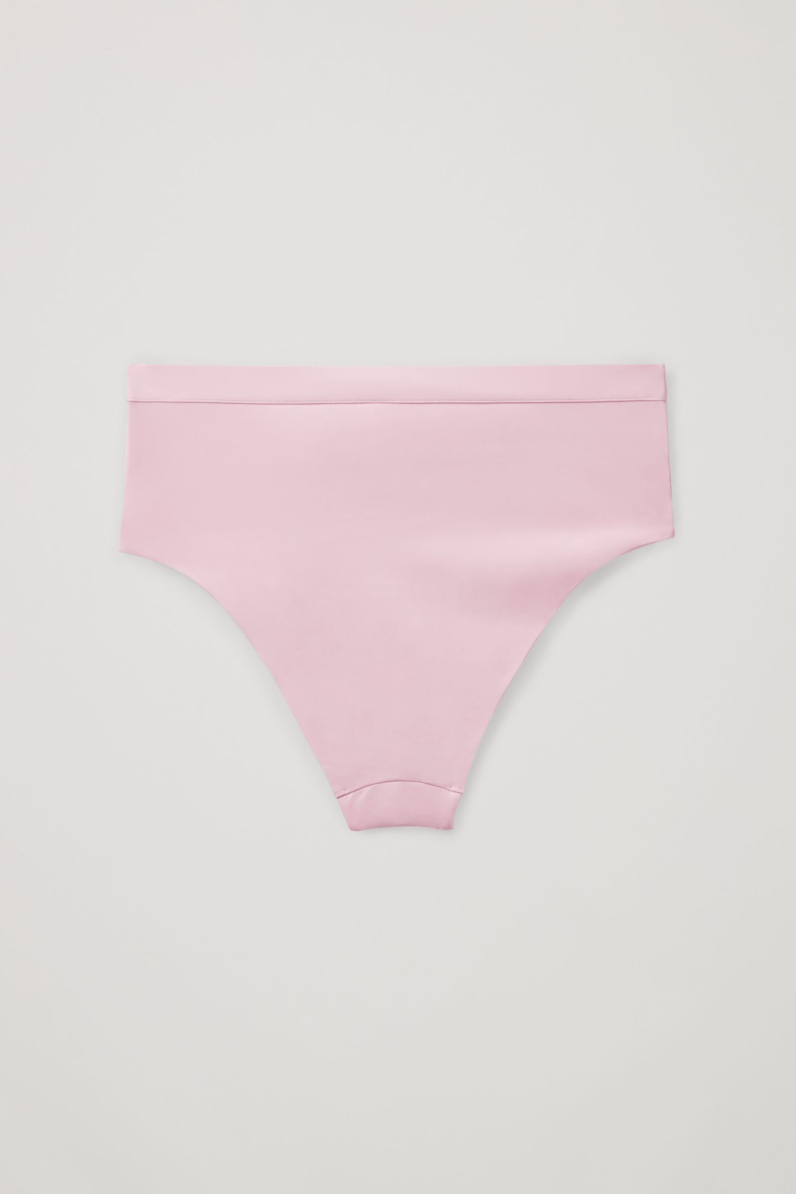 COS 하이 웨이스트 비키니 바텀의 핑크컬러 Product입니다.