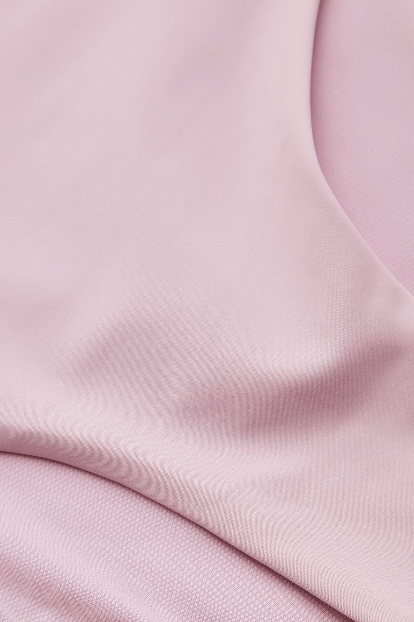 COS 하이 웨이스트 비키니 바텀의 핑크컬러 Detail입니다.