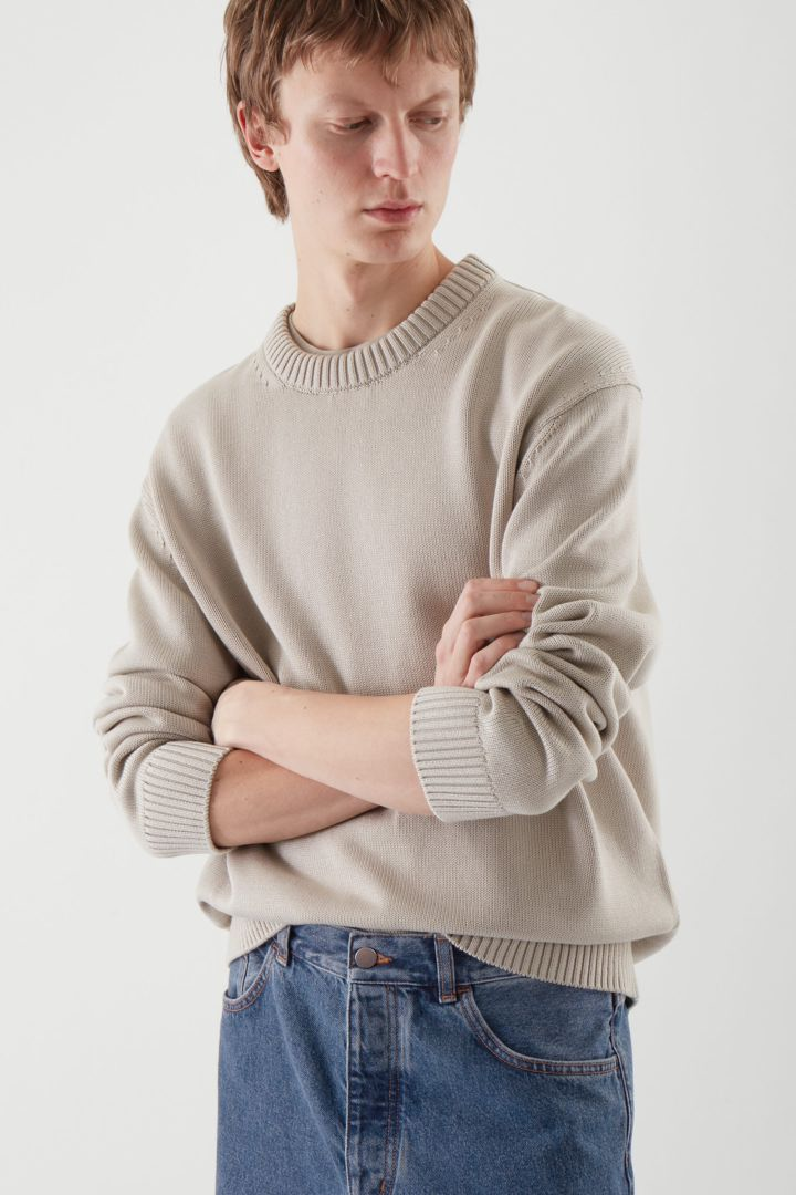 COS default image 2 of 브라운 in 릴랙스드 핏 스웨터