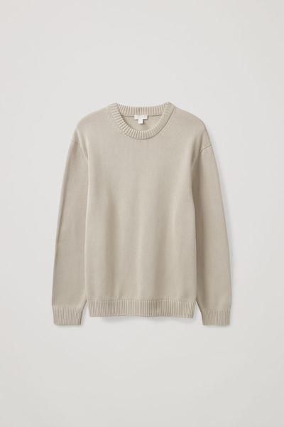 COS default image 6 of 브라운 in 릴랙스드 핏 스웨터