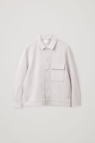 COS default image 11 of  in 코튼 트윌 셔츠 재킷