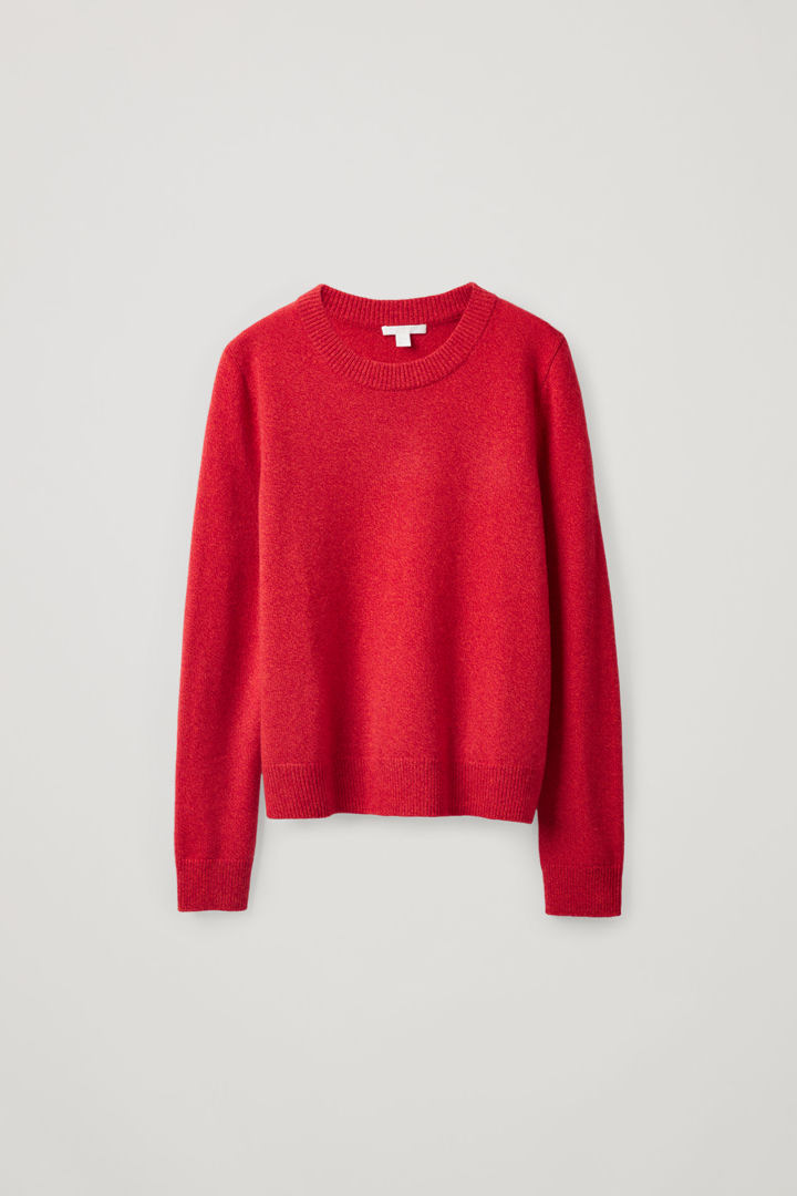 COS default image 9 of 오렌지 in 니티드 캐시미어 스웨터