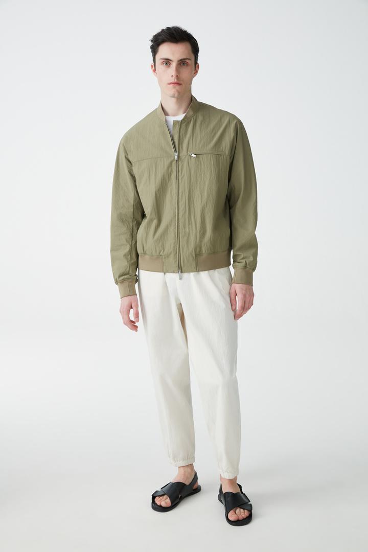 COS default image 3 of 그린 in 테크니컬 봄버 재킷